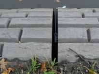 detail betonnen rand Stadsbuitengracht