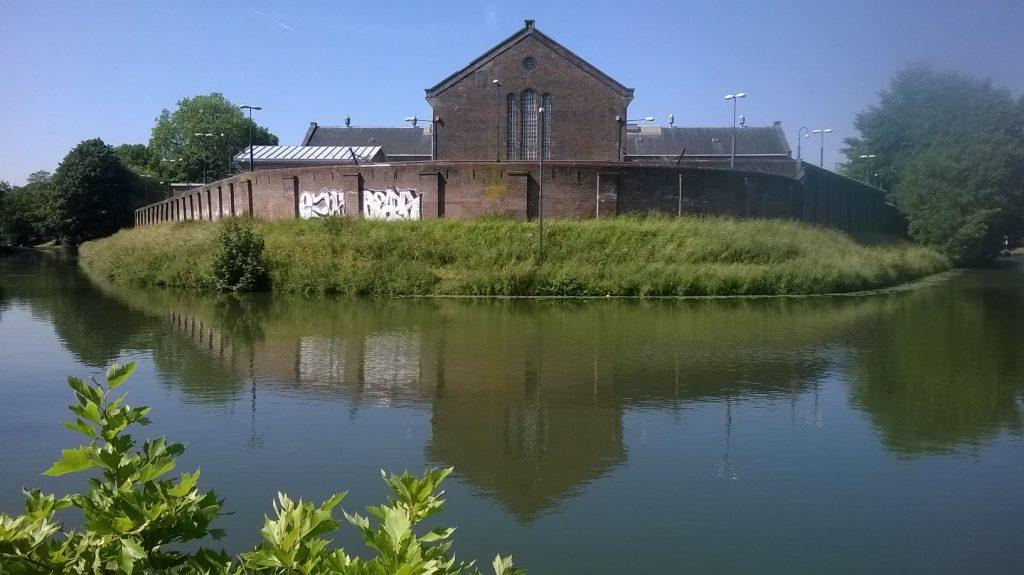 voormalige gevangenis Wolvenplein, juni 2015